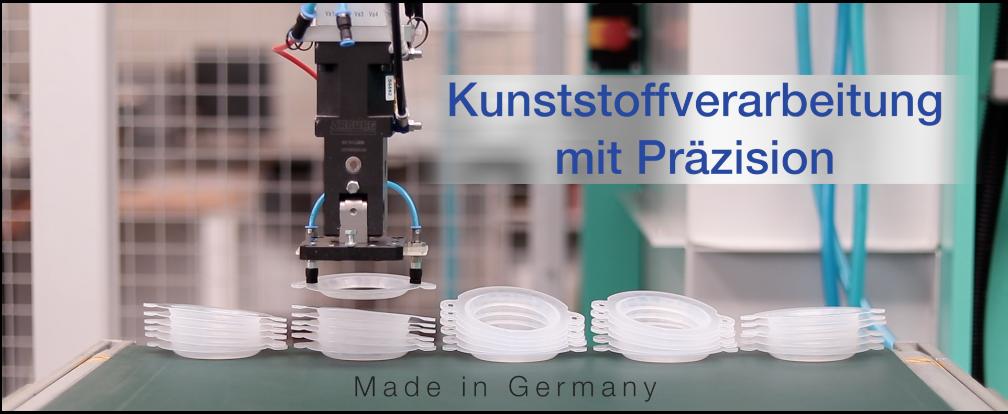 Kunststoffverarbeitung mit Präzision